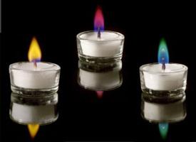 Бизнес-идея №1: «Свечи с разноцветным пламенем»